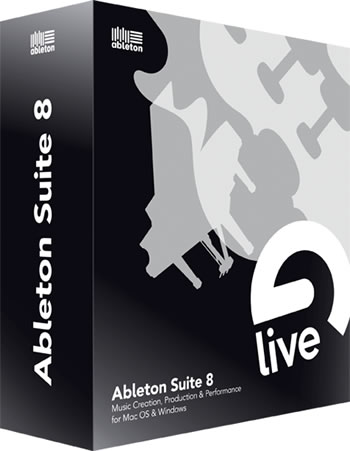 Ableton Suite 8 packshot